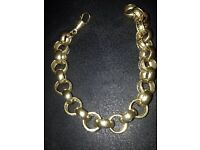 9ct gold bracelet 42gram