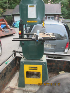 """Craftex 15"""" band saw with many bands"""