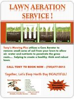 Fall Aeration  (Lawn Care)
