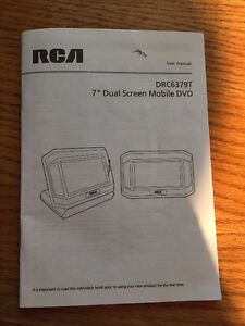 "7"" Dual Screen Mobile DVD Players (2) - RCA West Island Greater Montréal image 7"
