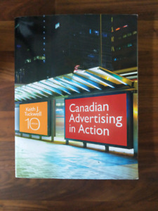 Canadian Advertising In Action 10th edition