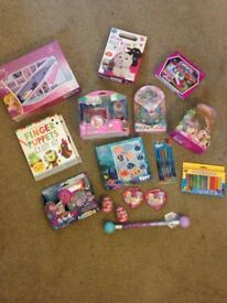 New Girls toys age 4 -7 bargain bundle. Xmas stocking filler nerf Lego craft