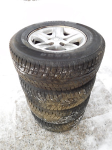 "Gently Used Winter Tires - 15"" to 17"" Sizes Available"