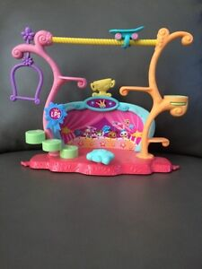 Littlest pet shop LPS tricks and talent show set