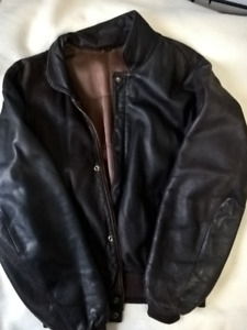 Genuine Roots Leather Jacket