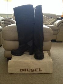 Brand New DIESEL boots size 6