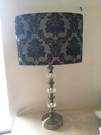 Pair of Lamps - 58cm high