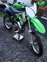 KAWASAKI KX 125-2001- LOOKING TO TRADE FOR A 250 2 STROKE