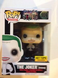 Hot Topic Suicide Squad Tuxedo Joker Funko Pop