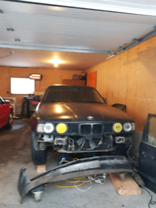 Bmw 1989 535i for parts or project car