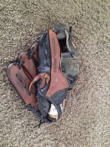 Right handed baseball glove