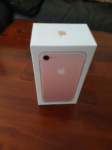 iPhone 7 32GB (Bell) (ROSE GOLD) - Brand New (SEALED)
