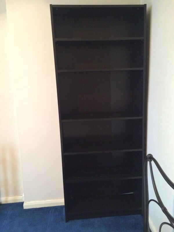 Ikea Billy Bookcase Black Brown