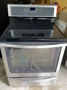 Cuisiniere Stainless Vitroceramic/Induction/Convection/Steam