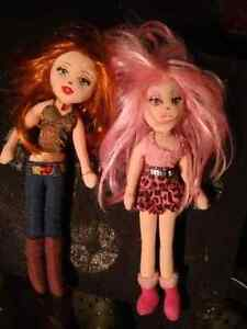 Two Ty Girlz dolls. $10