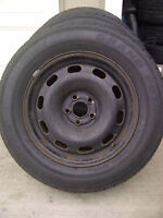 195/65/15 Grand Prix Tour RS on VW Golf steel rims 5x100