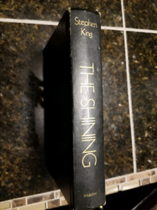 Stephen king first edition The Shining