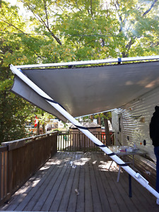 USED 21' SUNCHASER AWNING FOR SALE