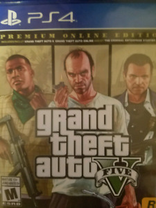 New Grand theft auto ps4 playstation 4