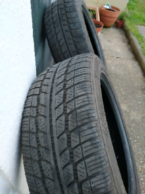 2 Tyres 17inch