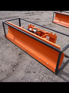 BRAND NEW UNUSED SUIHE 86' SKID STEER PLOW/DOZER BLADE!!