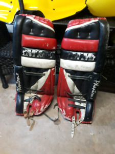 32 inch goalie pads $30