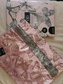Curtains 66 x 72 3 x cushion covers