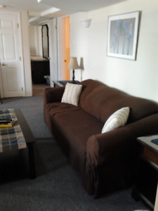 Clean, Central, Quiet, Furnished 1 Bedroom - Available Dec 1