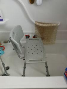 2 bath chairs