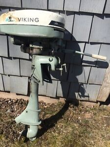 1965 Viking Boat Motor - outboard - teduced - sold