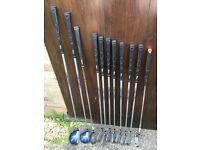 Wilson mens right handed graphite shaft golf clubs full set