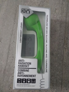 BRAND NEW! Green Ion Anti-Radiation Headset