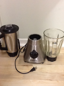 Toastess Stainless steel and Glass Blender