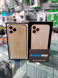 IPHONE 11 PRO 64GB GOLD UNLOCKED MOBILE PHONE WITH BOX