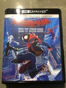4K HD Movie Spider-Man into the Spider-Verse