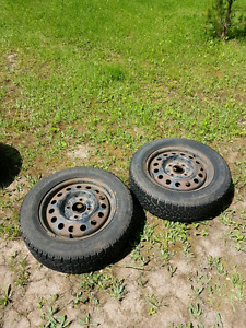 195 60 15 tires on rims 2 winter 2 summer