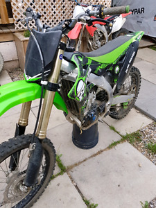 2012 kx 450f dirtbike!! Trade for 4x4 clean truck or $5100