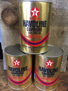 Vintage Texaco oil cans London Ontario image 1