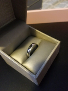 5MM Mens Platinum Wedding Band