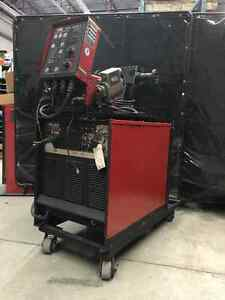 LINCOLN CV-400 Welder with Dual Feed Wire Feeder