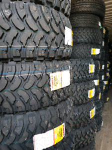 NEW LT33X12.5R20 COMFORSER MUD TERRAIN TIRES