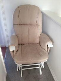 Tutti Bambini Recliner Glider Chair & Stool **BRAND NEW**