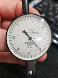 Brown and Sharpe test indicator