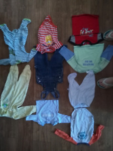 Baby boys clothes sizes 0-3,3-6,6-12,6-9,12-18,18-24,1,2,3,4t