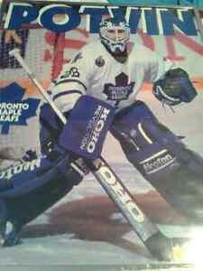 """Felix Potvin Toronto Maple Leafs Vintage Poster Framed... 20""""×16"""