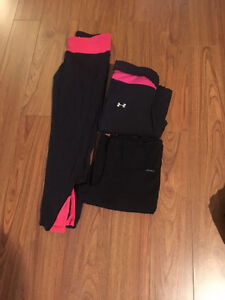 Under Armour pants and capris and athletic wear