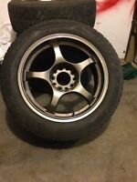 A-tech rims and tires