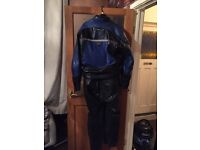 Motorbike 2 piece leathers reduced now 50 or going in she'd never to be seen again