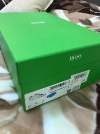 Brand new HUGO BOSS green trainers!