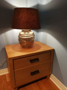 Crate & Barrel Dusk Table Lamp